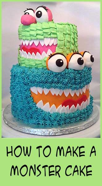 how to make a monster cake easy decorating techiques Your Best