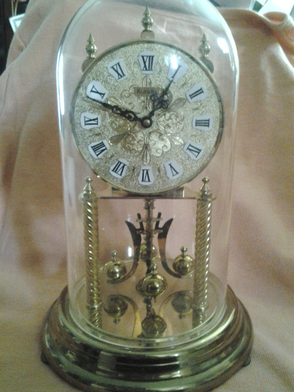 7a3fe2bc9e3 Kundo Anniversary Clock Made in West Germany.