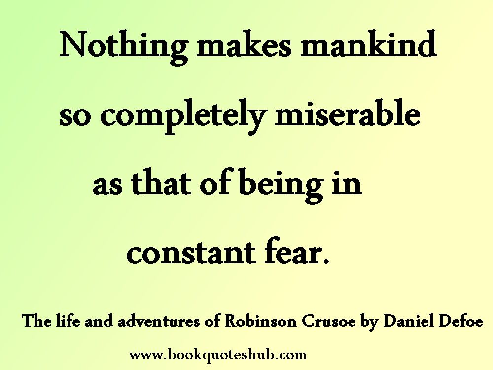 Quotes Hub Impressive Daniel Defoe  Book Quotes Hub  Here's Another Thought