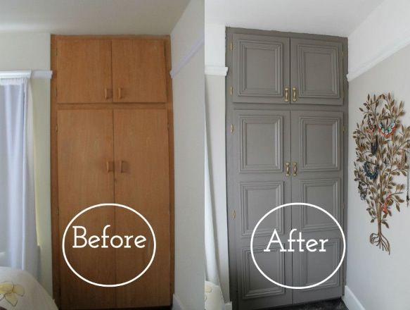 more photos 7bbbd 0a2f9 Before and after - upcycled wardrobe #upcycle #diy #wardrobe ...