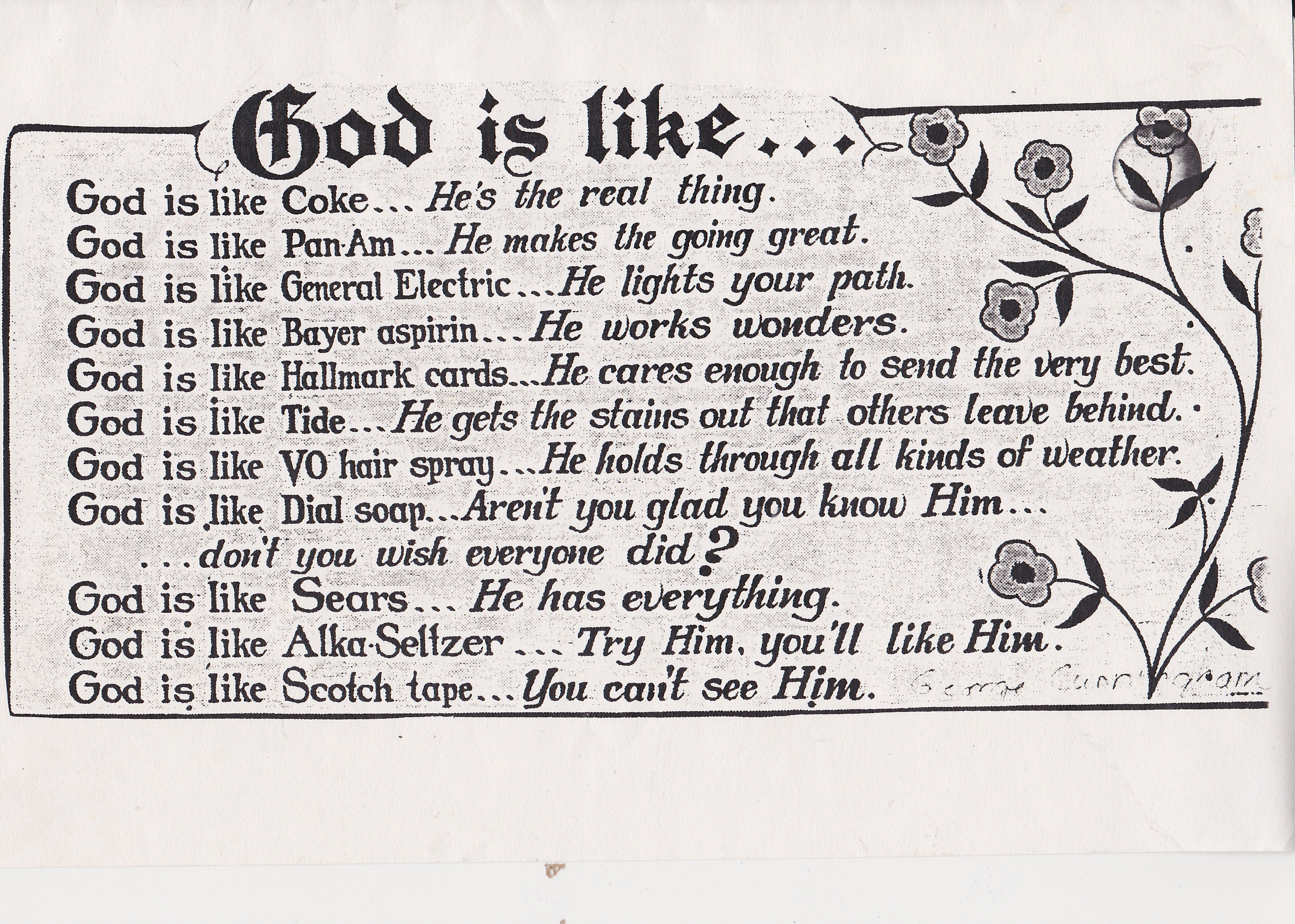 god is like quotes pinterest poem