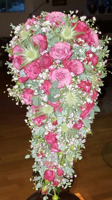 "Bridal Bouquet ""English drop"""