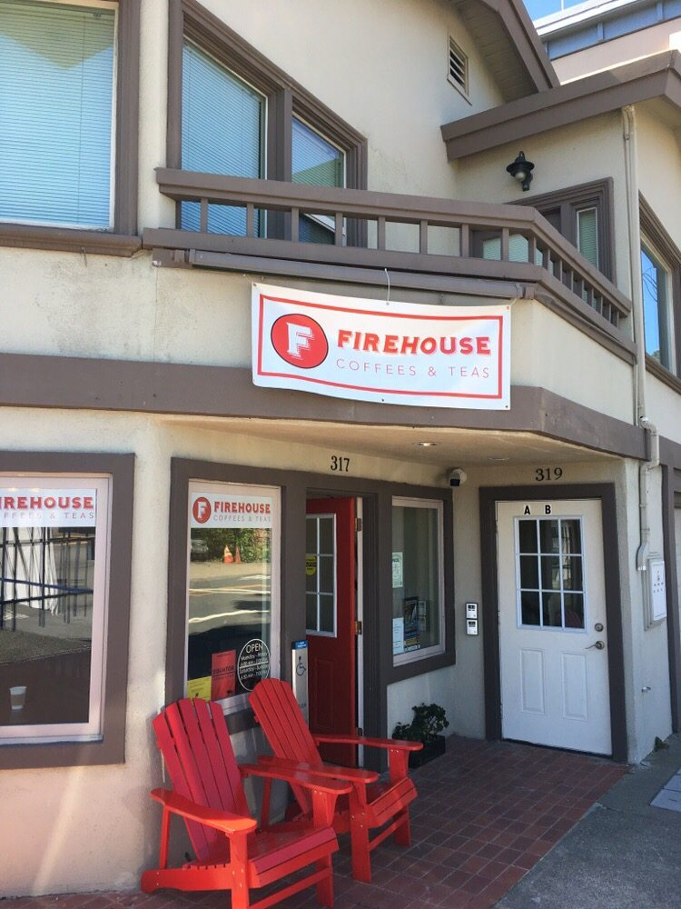 Firehouse Coffee Tea 317 Johnson St Sausalito Ca 94965 Coffee Tea Coffee Tea