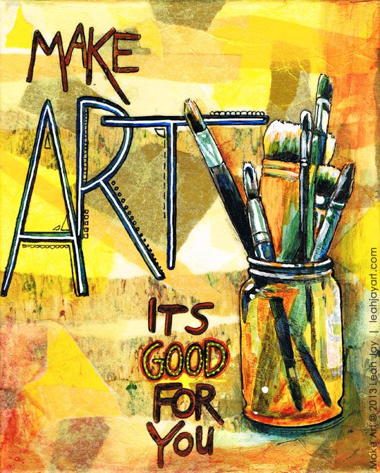 make art - its good for you