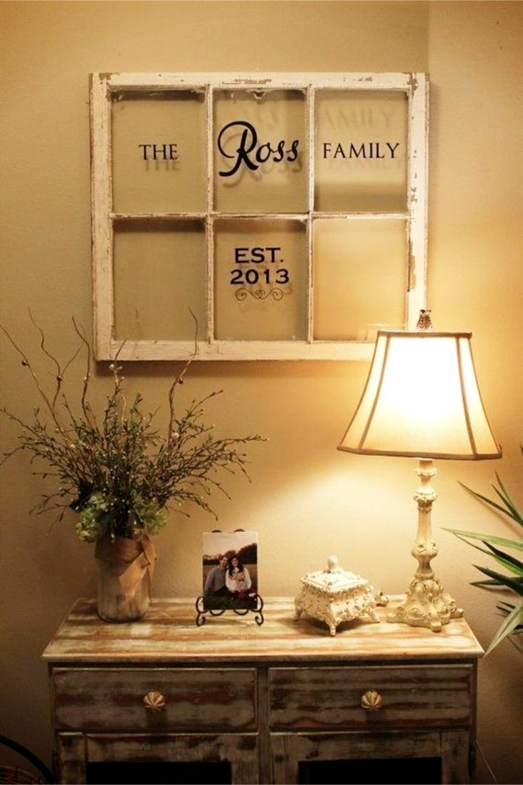 Old Window Frames DIY Ideas and Window Frame Crafts | Charming ...