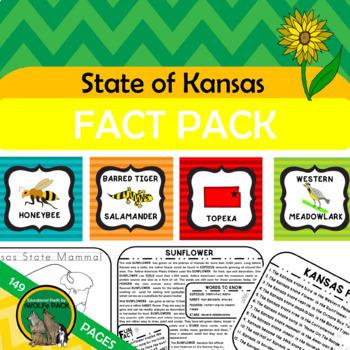 Kansas State Fact And Symbol Pack Kansas Day In 2020 Kansas Day Kansas Facts Kansas State