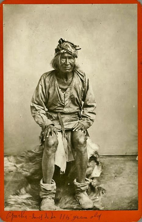 116 year old apache man born in 1765 mozart was alive