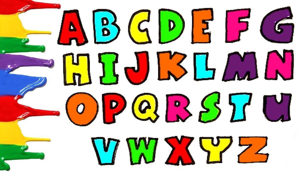Alphabet Alphabets Abc Learning Alphabet Abc Coloring Video Learning Abc Learning The Alphabet Abc Coloring