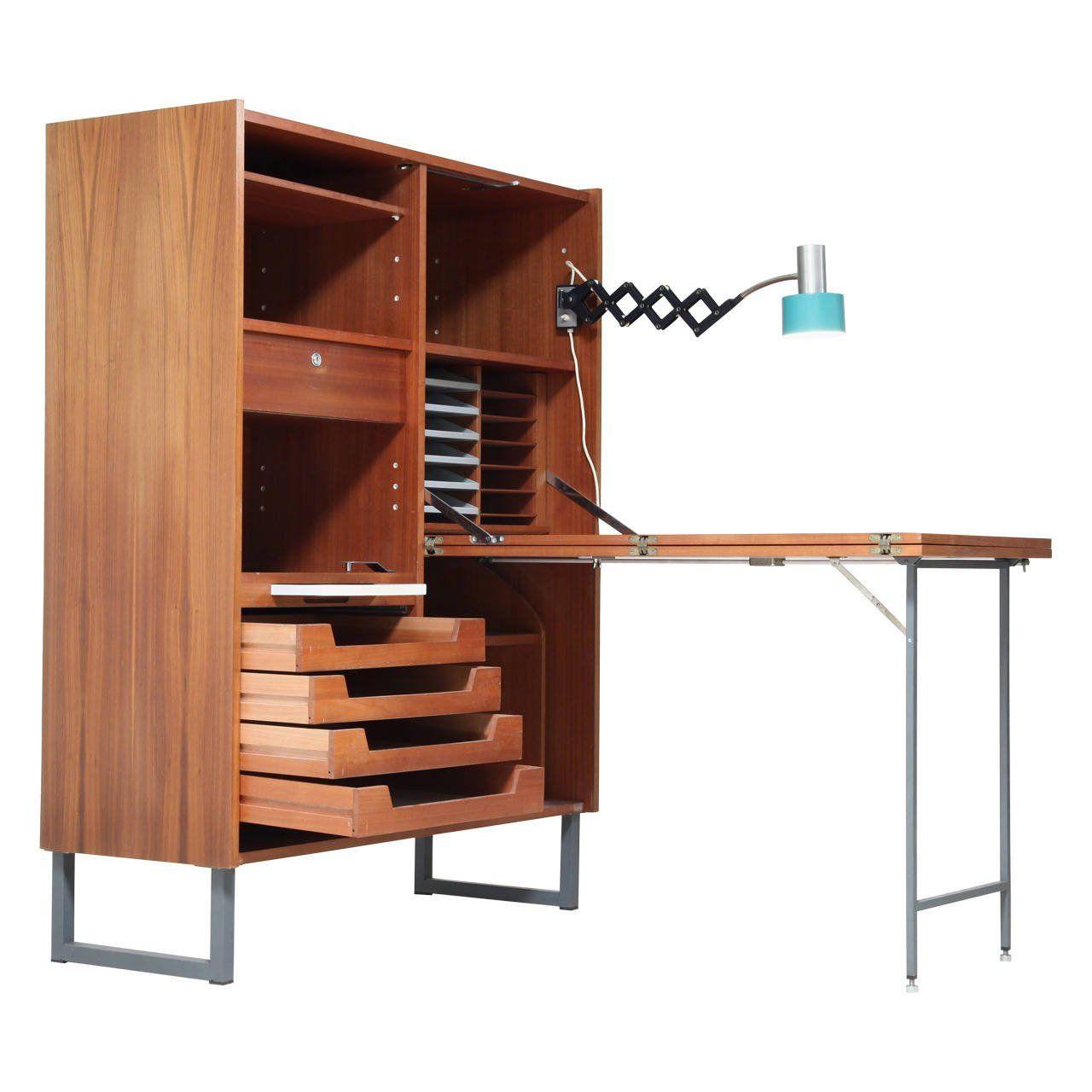 fold out desk office