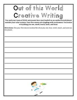 Creative writing for 8th graders
