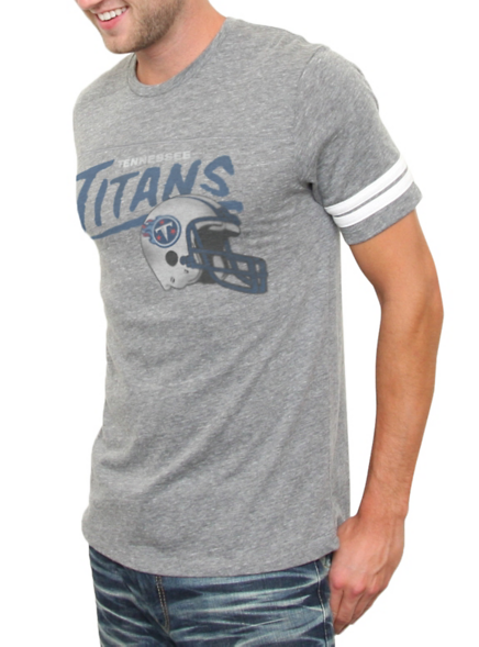 36a83ee5 Junk Food Clothing - Men's New Arrivals - All - NFL Tennessee Titans Vintage  Inspired Throwback Tee