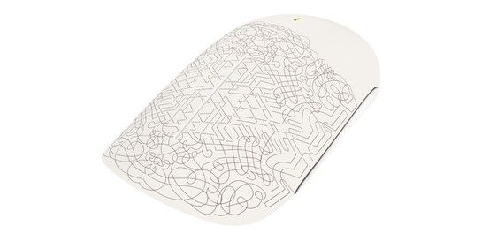 Sponsored: Microsoft Touch Mouse designed by New York-based artist Deanne Cheuk. | Curated by @Jennifer Chong
