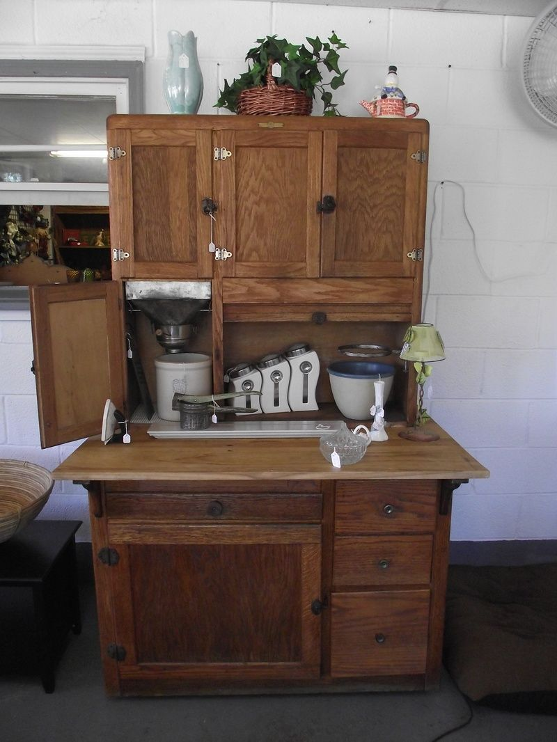 Primitive Hoosier Cabinets For Sale | Antique Hoosier Cabinet Bread Making  Station   Man Tools U0026