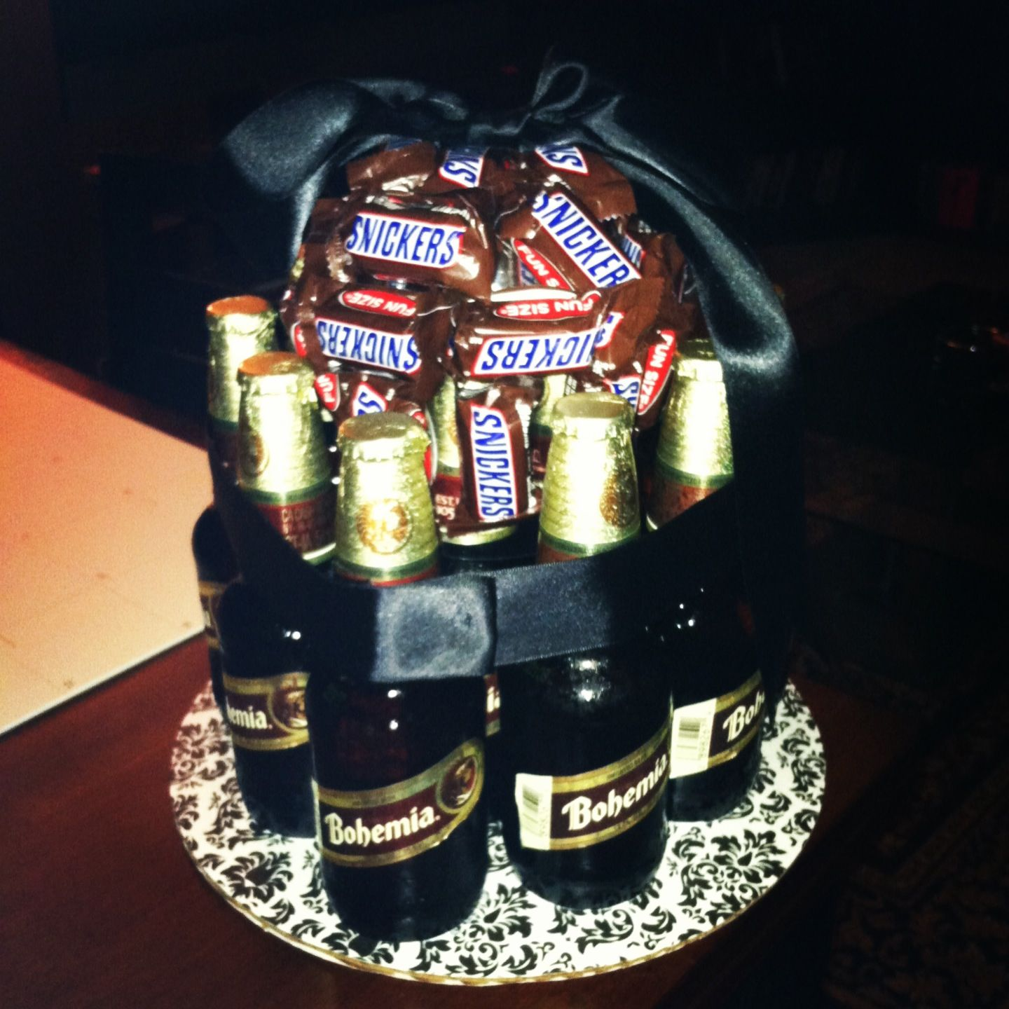 Beer Cake With Candy Made By Me