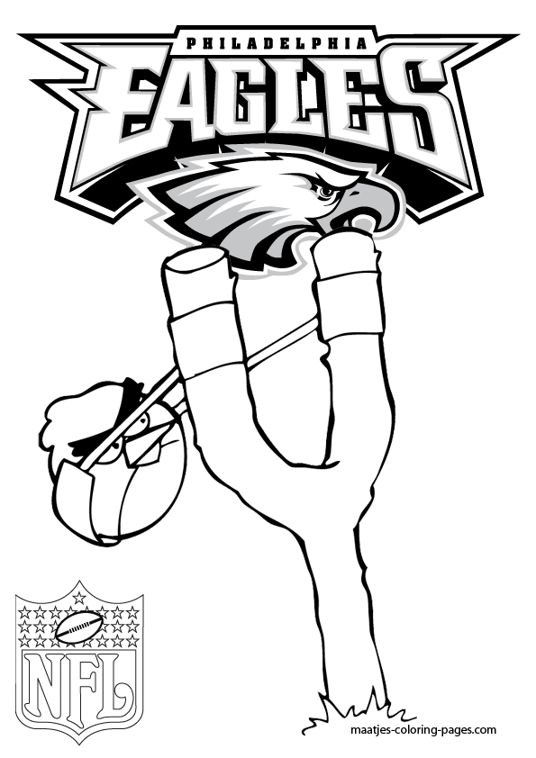 maatjes coloring pages - philadelphia eagles high quality coloring pages with