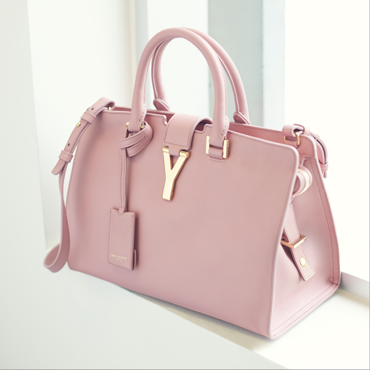 c5af871e4ca1 YSL Top Handle Bag. Nice Spring color....if i liked pink. Bag is great tho.