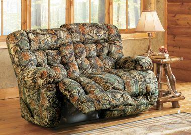 best home furnishings kipling camouflage love seat