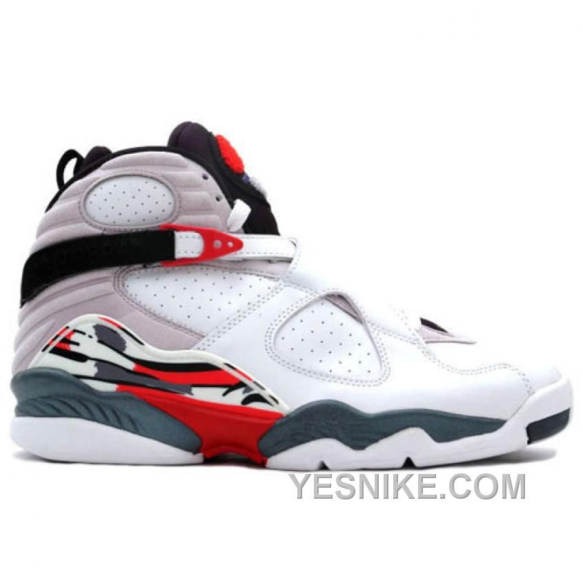 Air Jordan Retro 8 White Black True Red 305381103