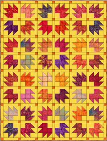 Bears Paw Quilt Block Pattern: Instructions in 3 Sizes | Free ... : bear claw quilt block - Adamdwight.com