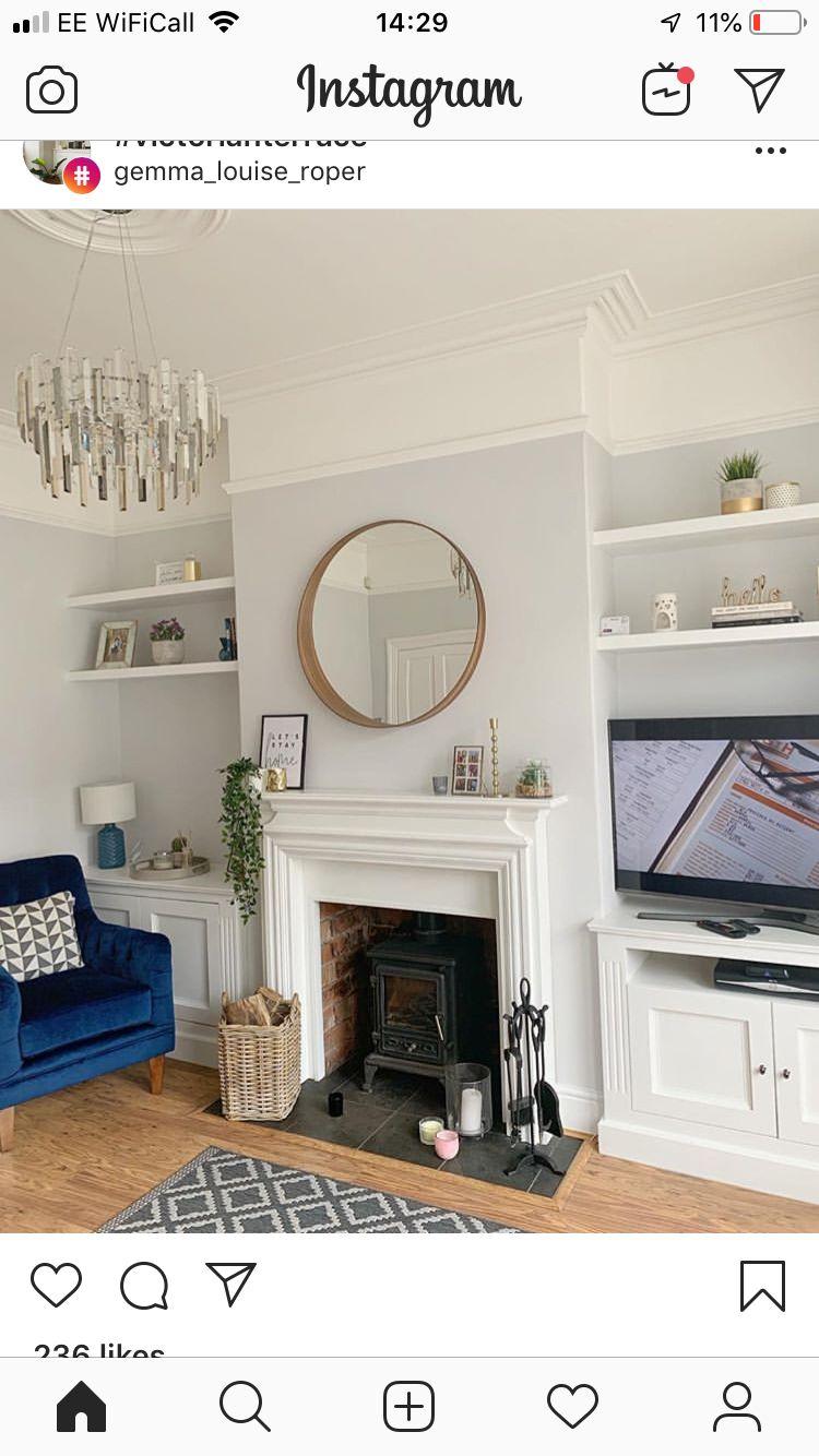 shelves  alcove ideas living room victorian living room