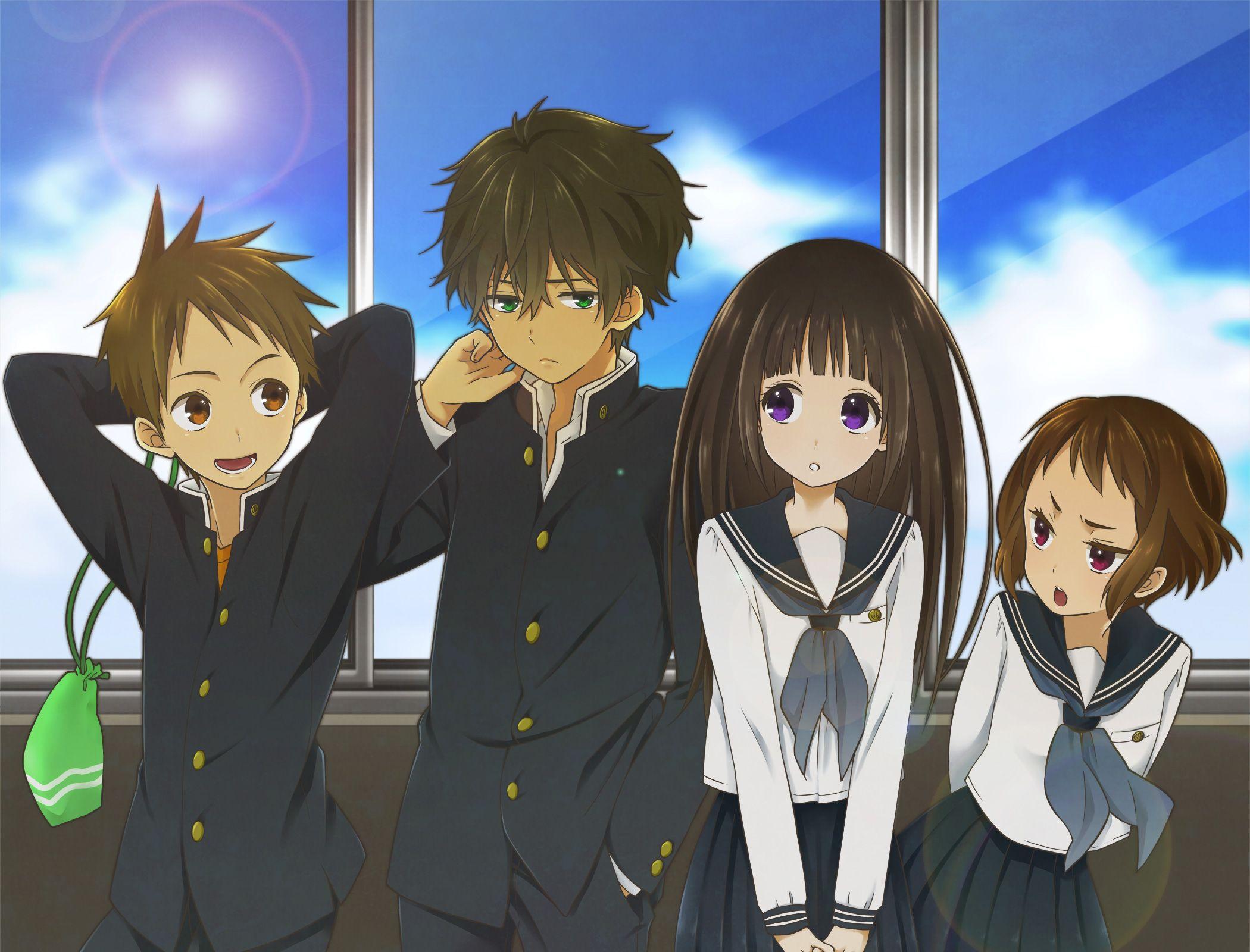 /Hyouka/1272823 Zerochan Kyoto Animation Yonezawa