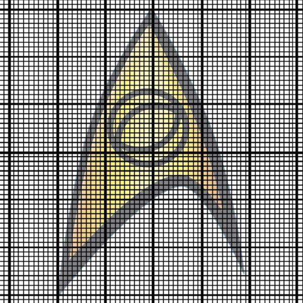 Science Officer emblem (Star Trek) cross stitch   cross stitch ...