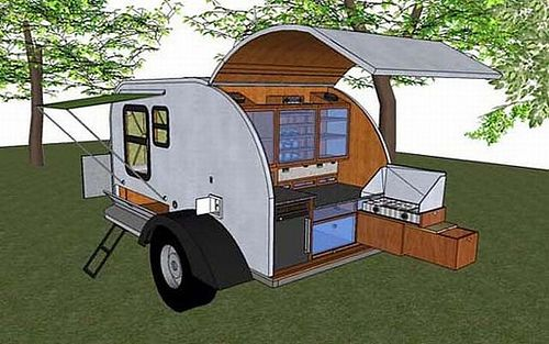 Pin by David Stidham on Teardrop Campers | Teardrop camper trailer