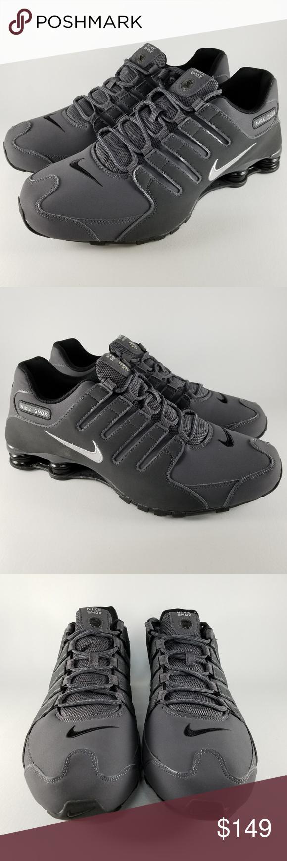 Nike Shox NZ Men s Running Athletic Shoes Grey 15 Nike Shox NZ Men s  Running Shoes Style 18735c50c