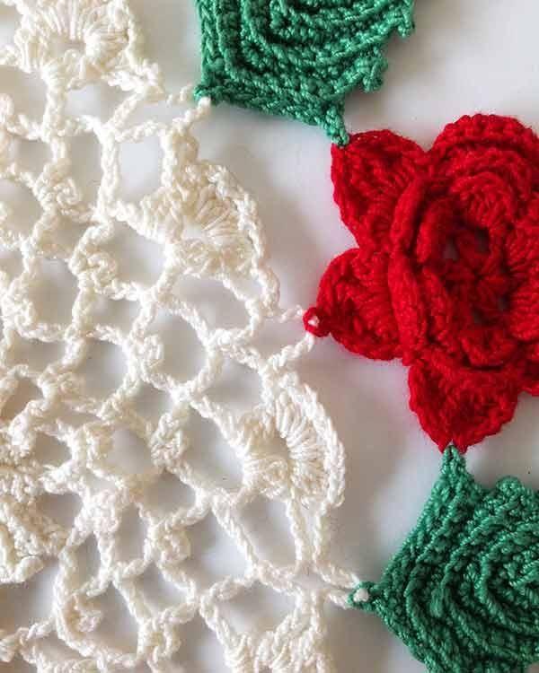 Vintage Christmas Doilies Crochet Pattern Doilies Crochet Vintage