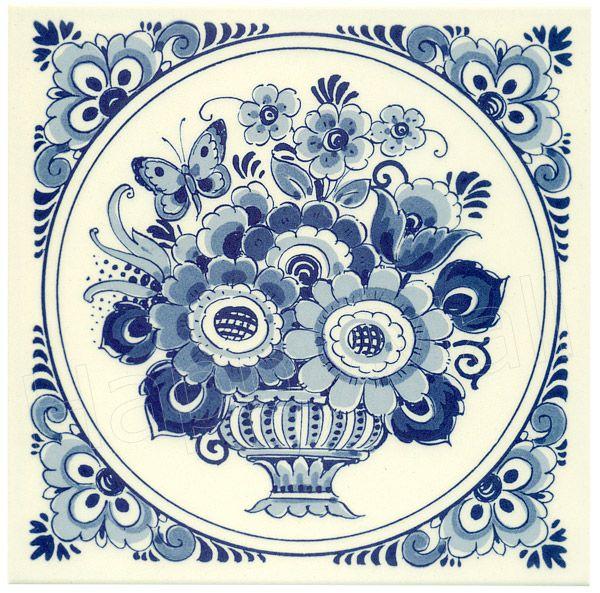 Delft Tiles, Blue Pottery, Delft