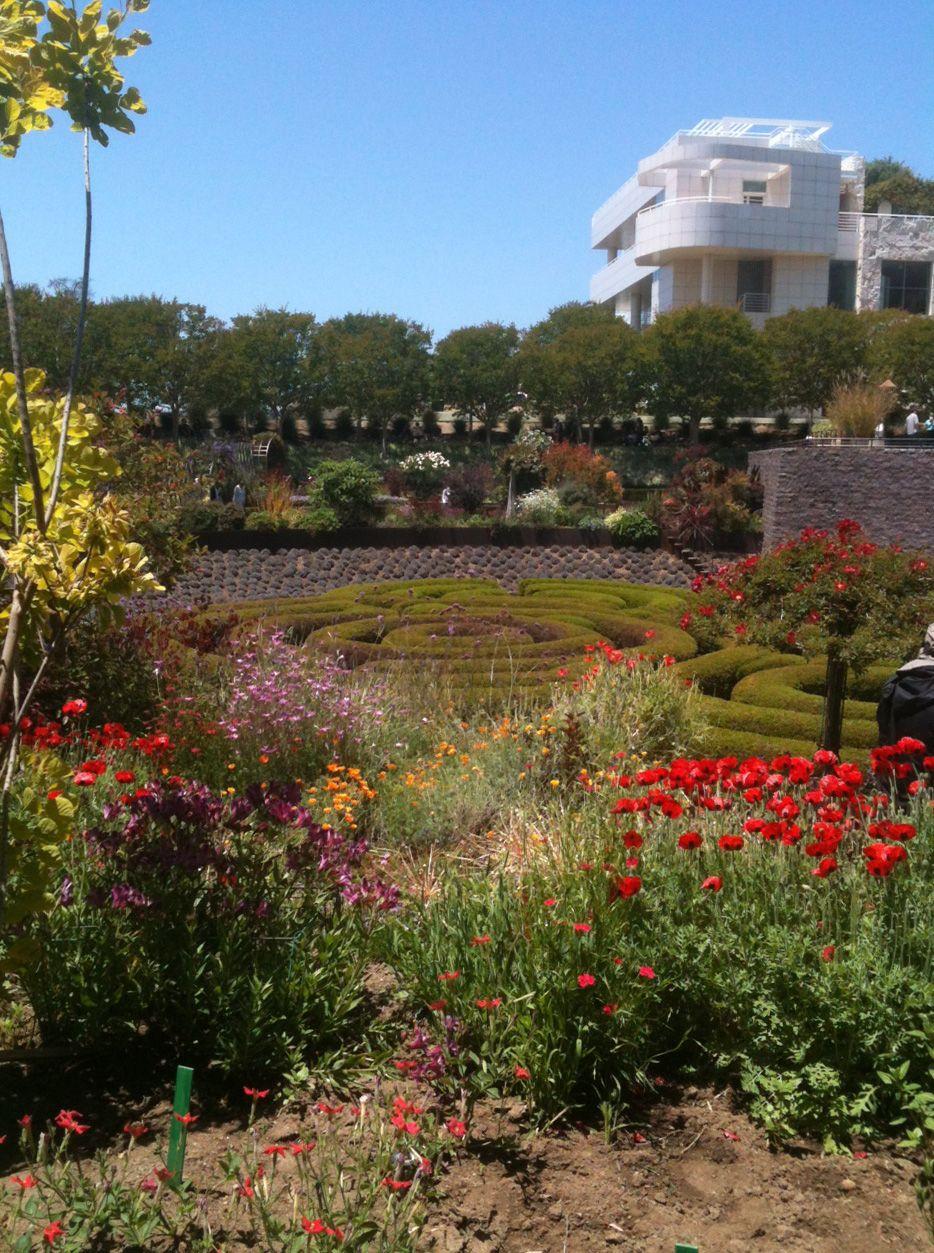 The Getty Center - Botanical Garden | Getty center
