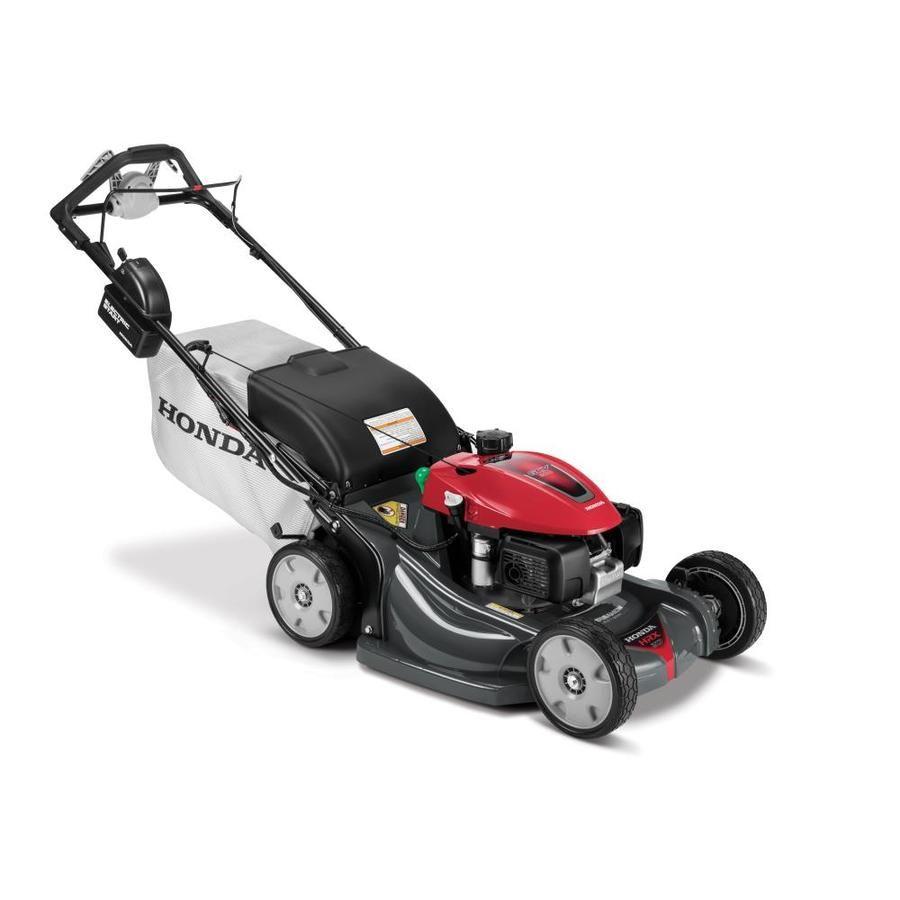 Honda Honda Honda Hrx21k6vla 21in Nexite Deck Electric Start Select Drive Lawn Mower Lowes Com In 2021 Lawn Mower Mower Walk Behind Mower