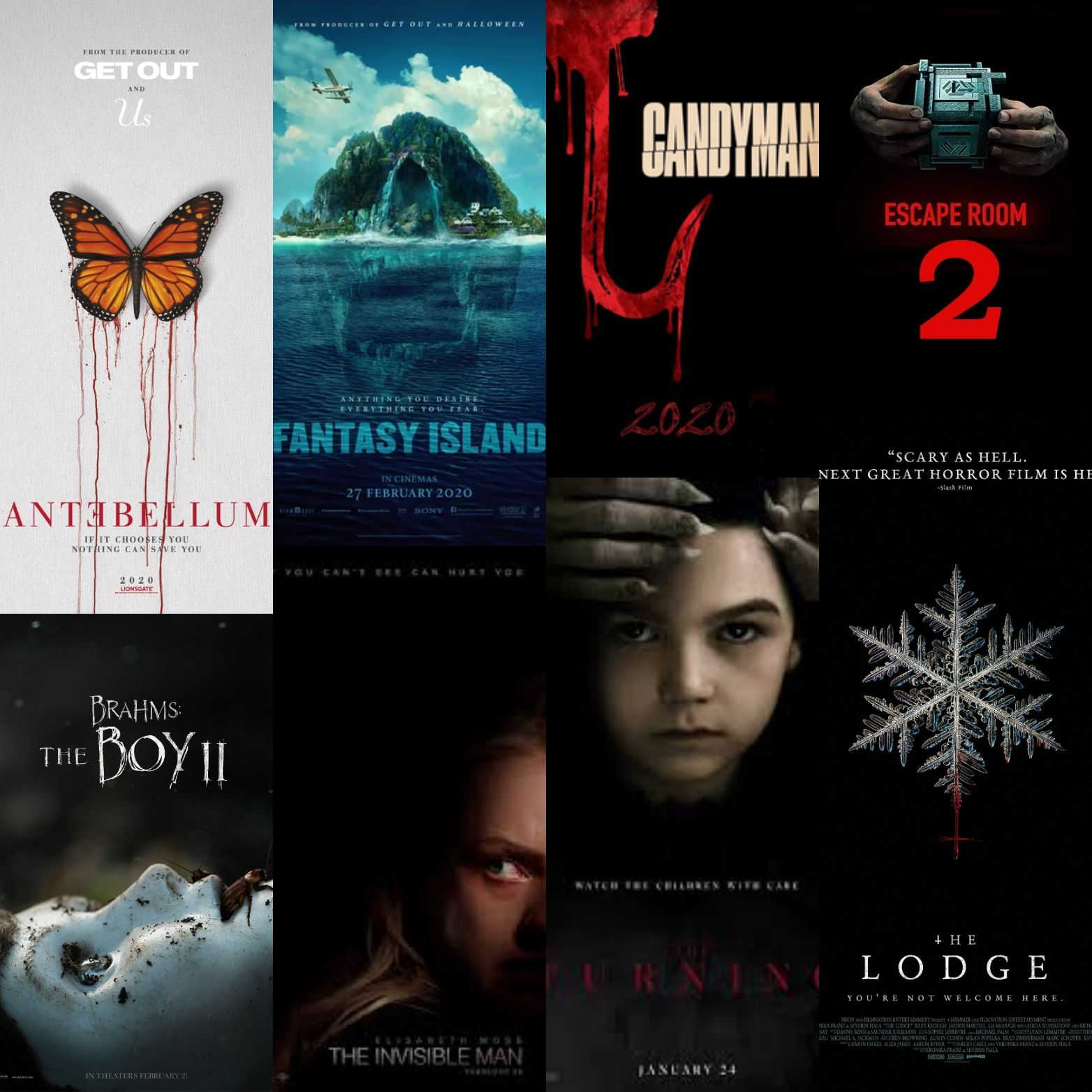 Ten MustSee Horror Movies of 2020 in 2020 (With images