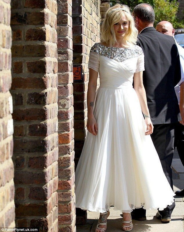 Ankle Length Wedding Dress,Informal Wedding Dress ,Short Sleeve Wedding Gown from Sancta Sophia #greekweddingdresses