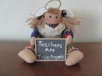New Teachers Are True Angels Doll Free Shipping $16.95