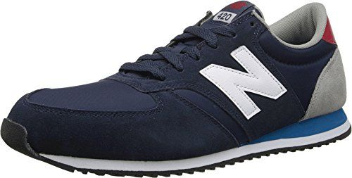 new balance u420 color pop sneaker herren navy