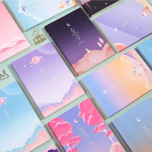 2019 Moon piece undated weekly diary planner by Second Mansion. All the pages inside the Moon piece diary are dateless so it can be used in any year at any time.