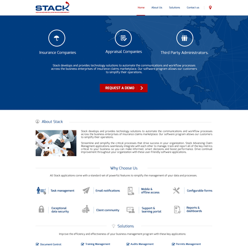 Stack Claims Page Insurance Companies Appraisal Companies Third