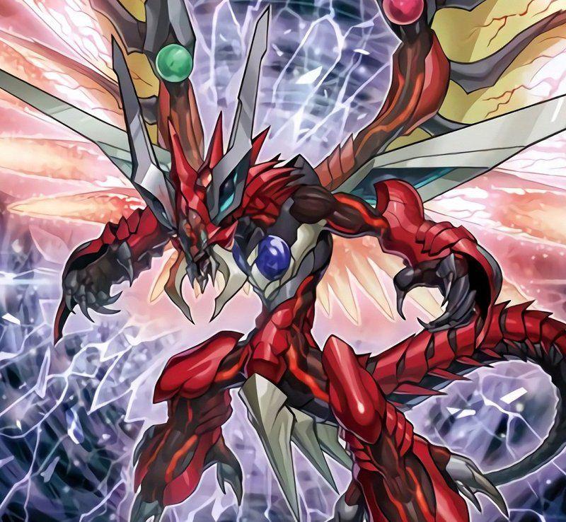 Odd Eyes Raging Dragon Wallpaper   Odd-Eyes Raging Dragon by