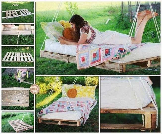 Wooden Pallets Idea Diy Craft Idea Pallet Swing Beds Diy
