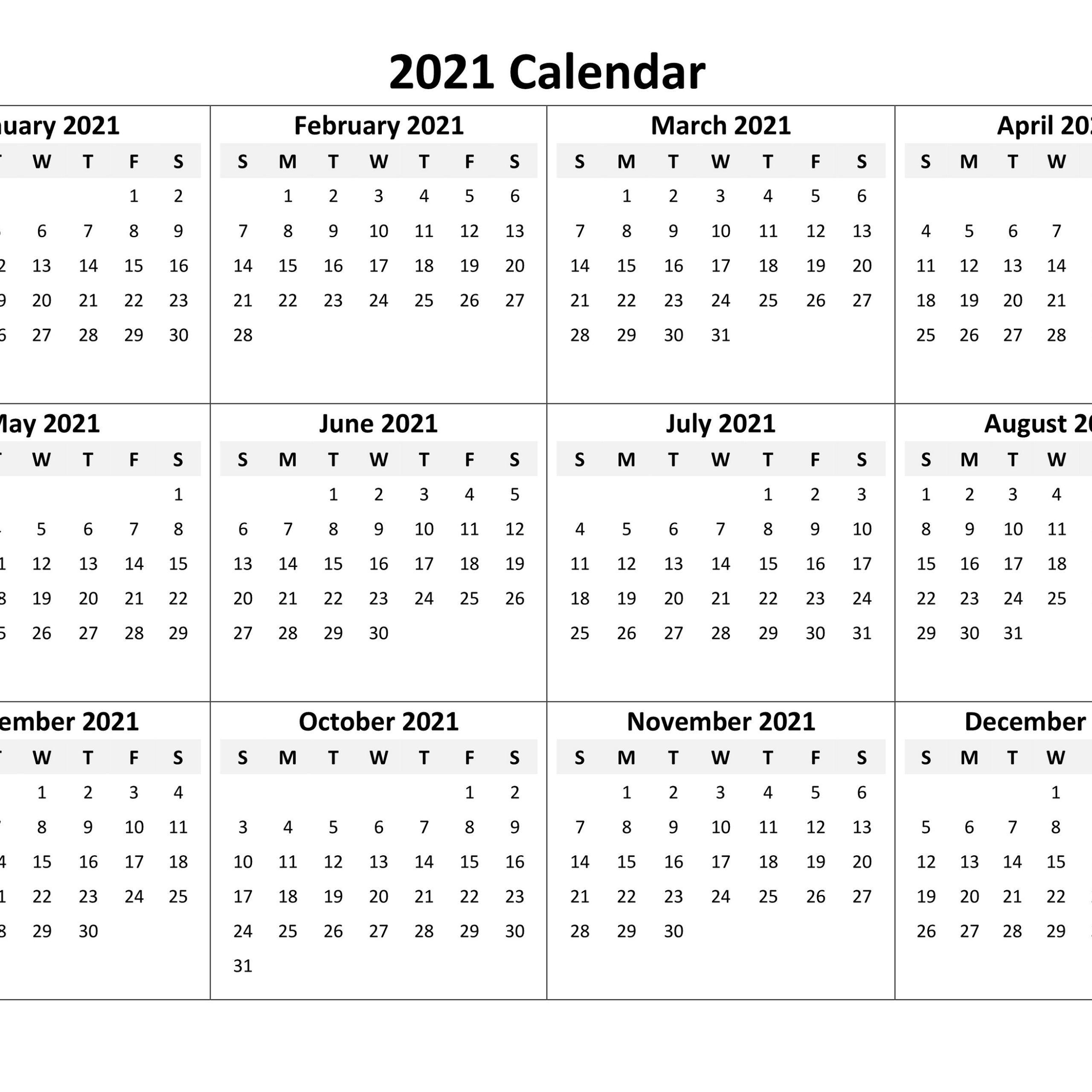 Calendar 2021 Online In 2020 Calendar Online Printable Calendar Online Calendar