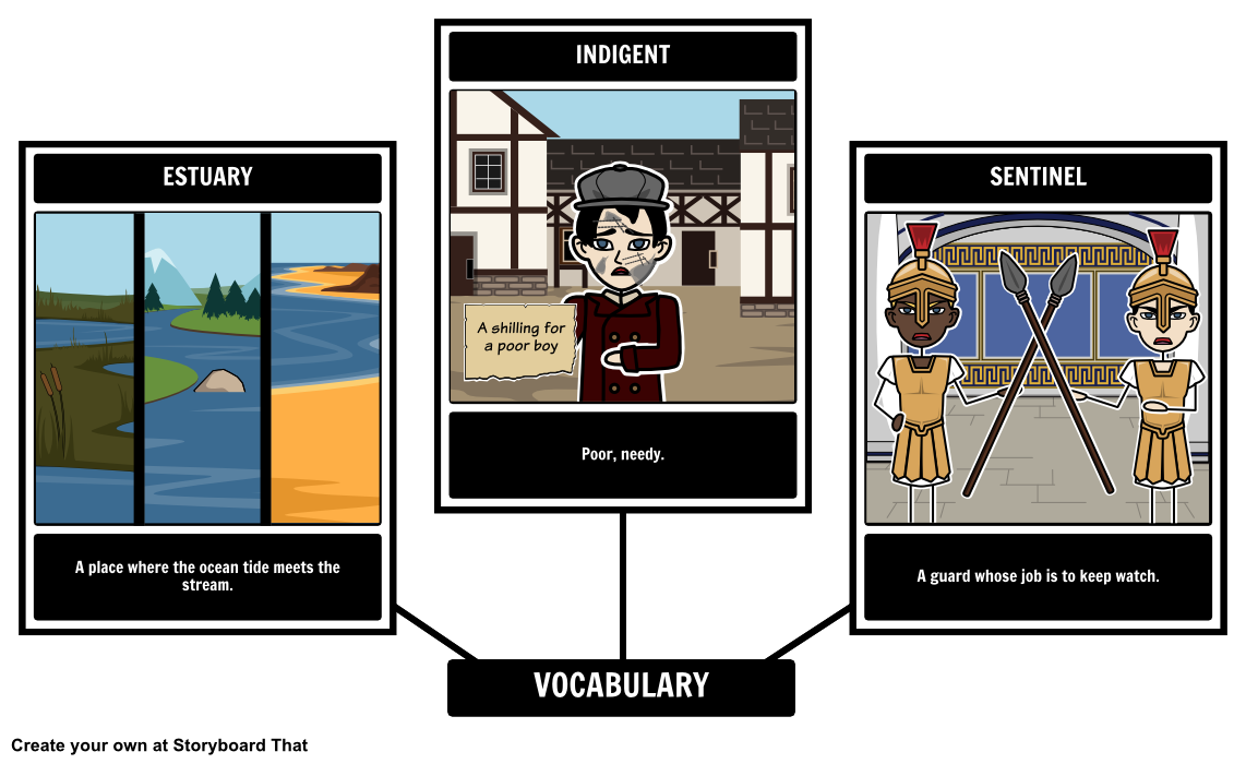 Engage Your Students Through Storyboards That Use Vocabulary From