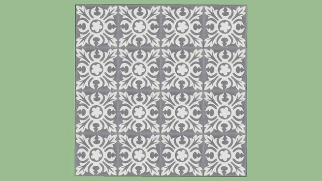 Damville Gris 15 15 Carreaux De Ciment Ciment Tiles Carrelages Du Marais 3d Warehouse Carreau De Ciment Carrelages Du Marais Carrelage