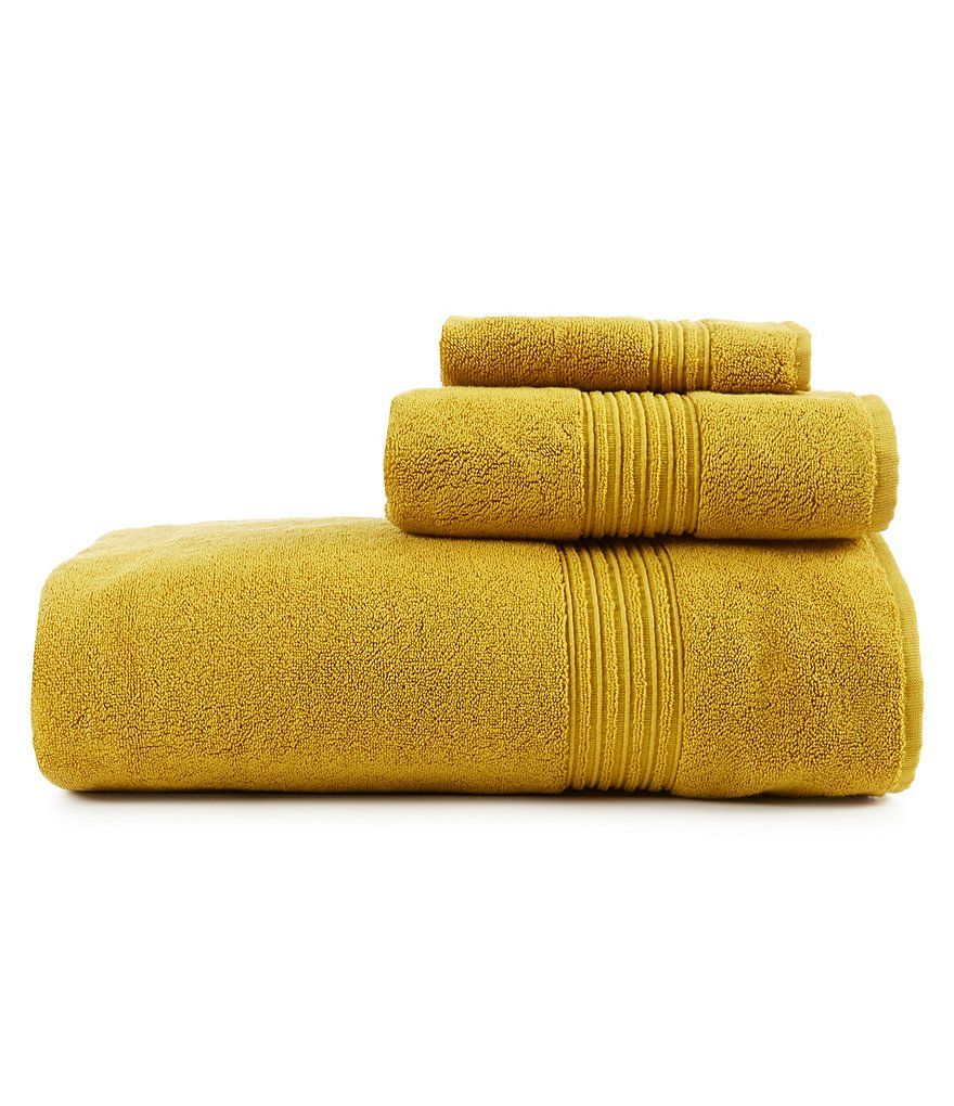 Mustard Southern Living Turkish Cotton Bath Towels Mustard Bath Towel Bath Towels