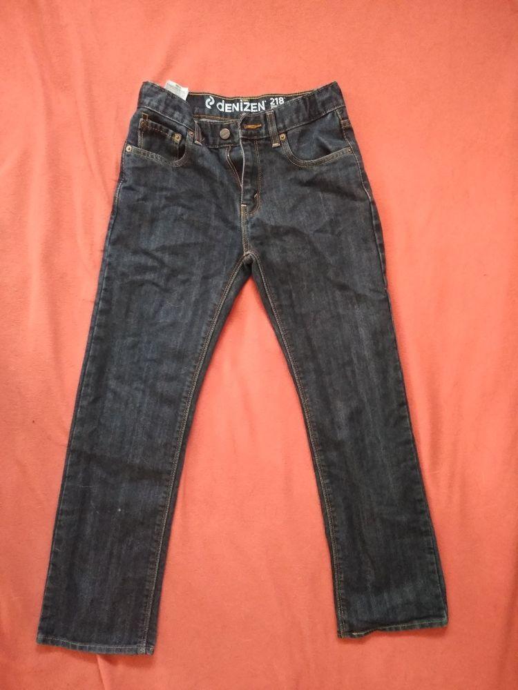 Denizen 218 slim straight fit levis boys jeans size 14reg