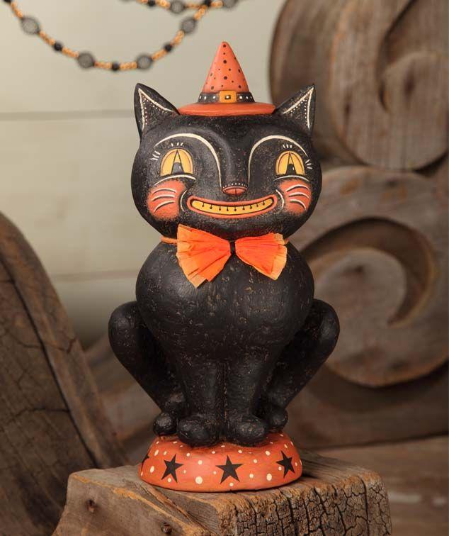 Johanna Parker Halloween | Johanna Parker Halloween Smilin Simon Cat Container 2013