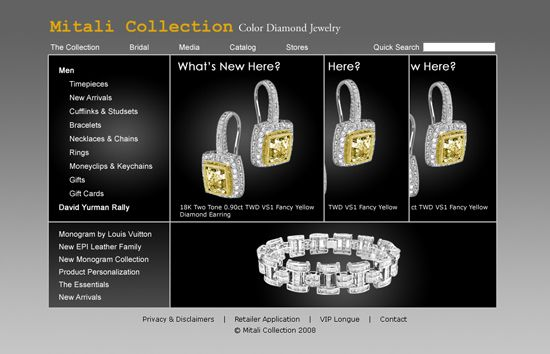 Jewellery Website - Asp Net,Flash,C#,Ajax,Javascript,We by
