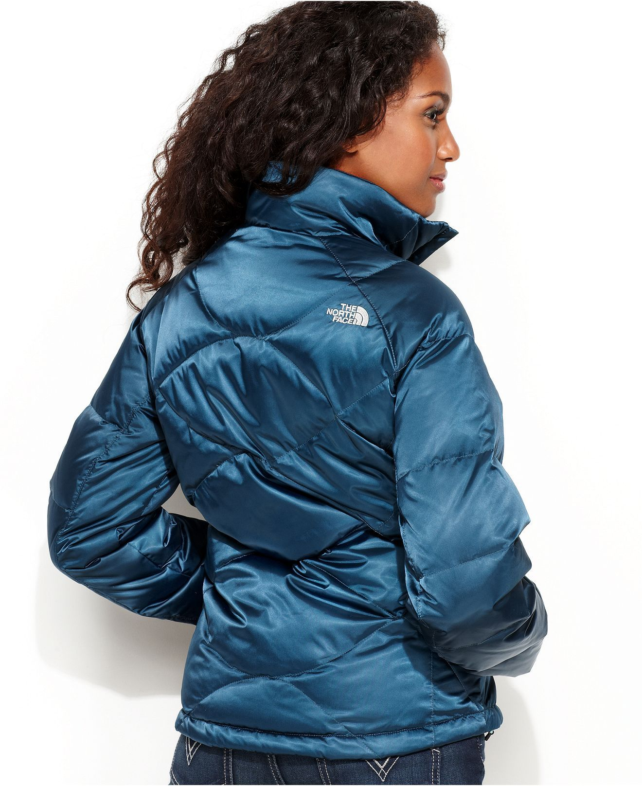 The North Face Jacket Aconcagua Quilted Down Lightweight Womens Coats Macy S North Face Jacket Jackets The North Face [ 1616 x 1320 Pixel ]