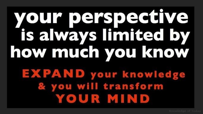 Expand Your Knowledge You Will Transform Your Mind Personal