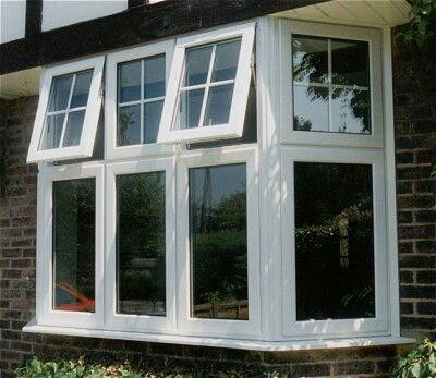 Half Georgian Pvc Window Styles Home Window